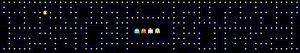 Keukenachterwand Pacman 400 x 70 cm