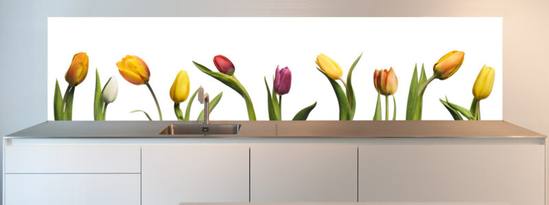 Backsplash for kitchen, awesome Tulips available to order