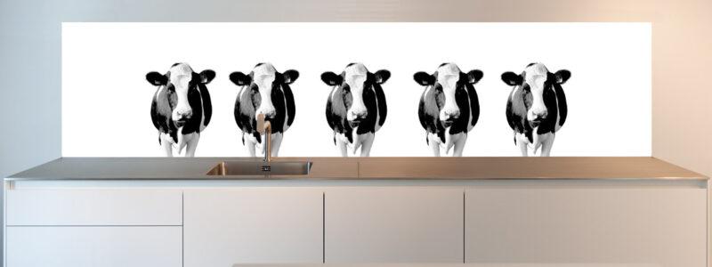 keukenwand koeien