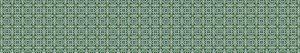 Keuken spatwand- groene tegels