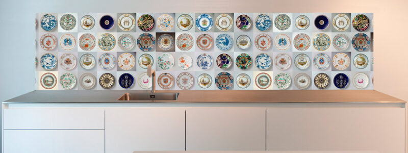 Muur keuken afbeelding