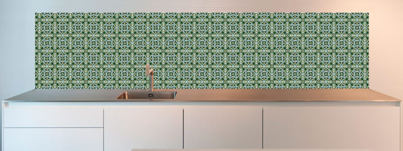 Keuken wandtegels design