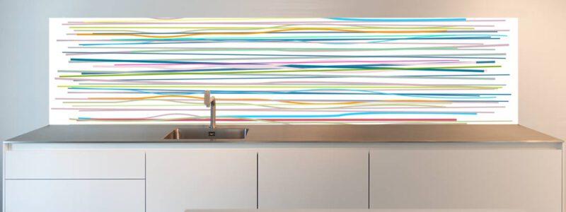 keuken achterwand behang